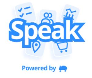 Speak, desenvolvido pela equipe cartX.