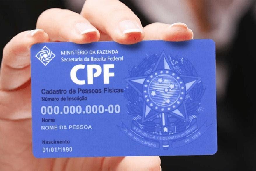 Chave pix com CPF